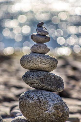 équilibre de la circulation des énergies dans le corps humain grâce à l'ostéopathie